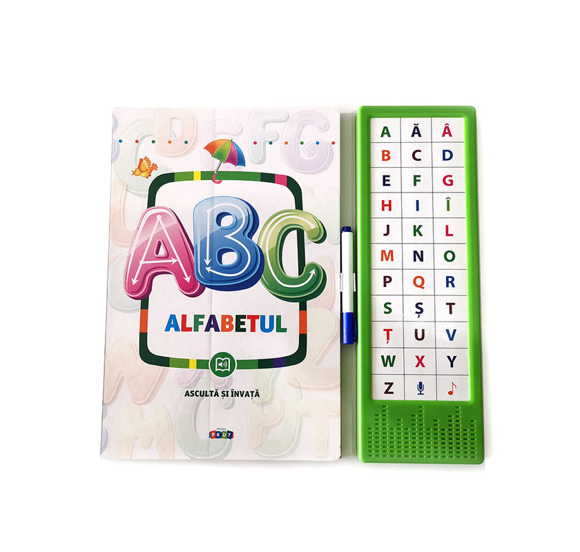 Early Learners Toys English ABC Children Learning Book